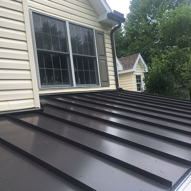 Black Metal Roofing in Lancaster, PA