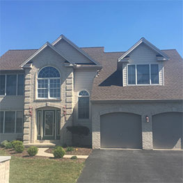 Chester County PA Roofing Project