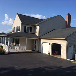 Black shingle roofing company in Lancaster, PA