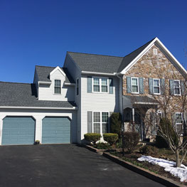 Home with shingle roof in Chester County, PA
