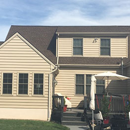 New roof in Lancaster, PA